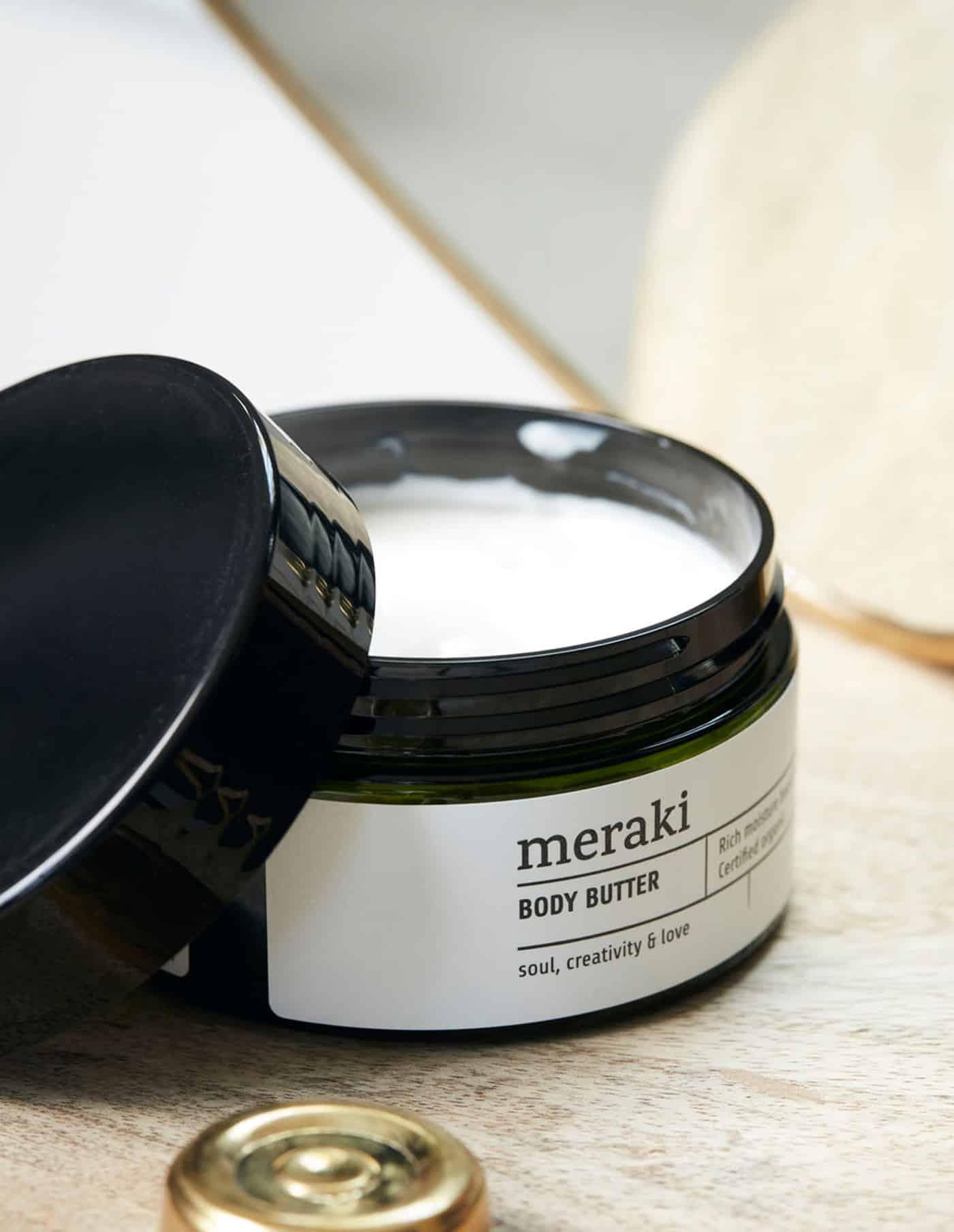 Linen Dew Organic Body Butter, Meraki