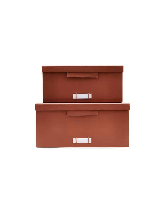 Large Cognac Storage Boxes, Monograph