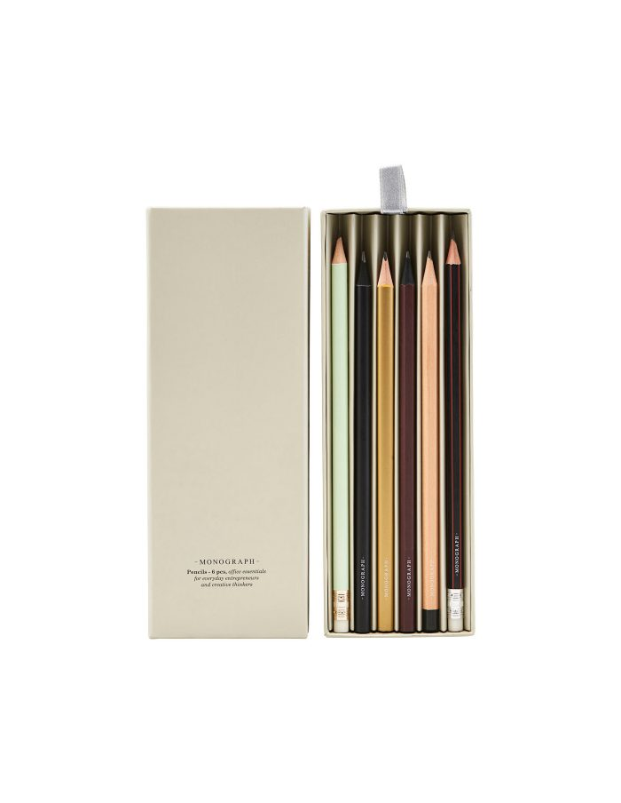 Boxed Pencil Set, Monograph