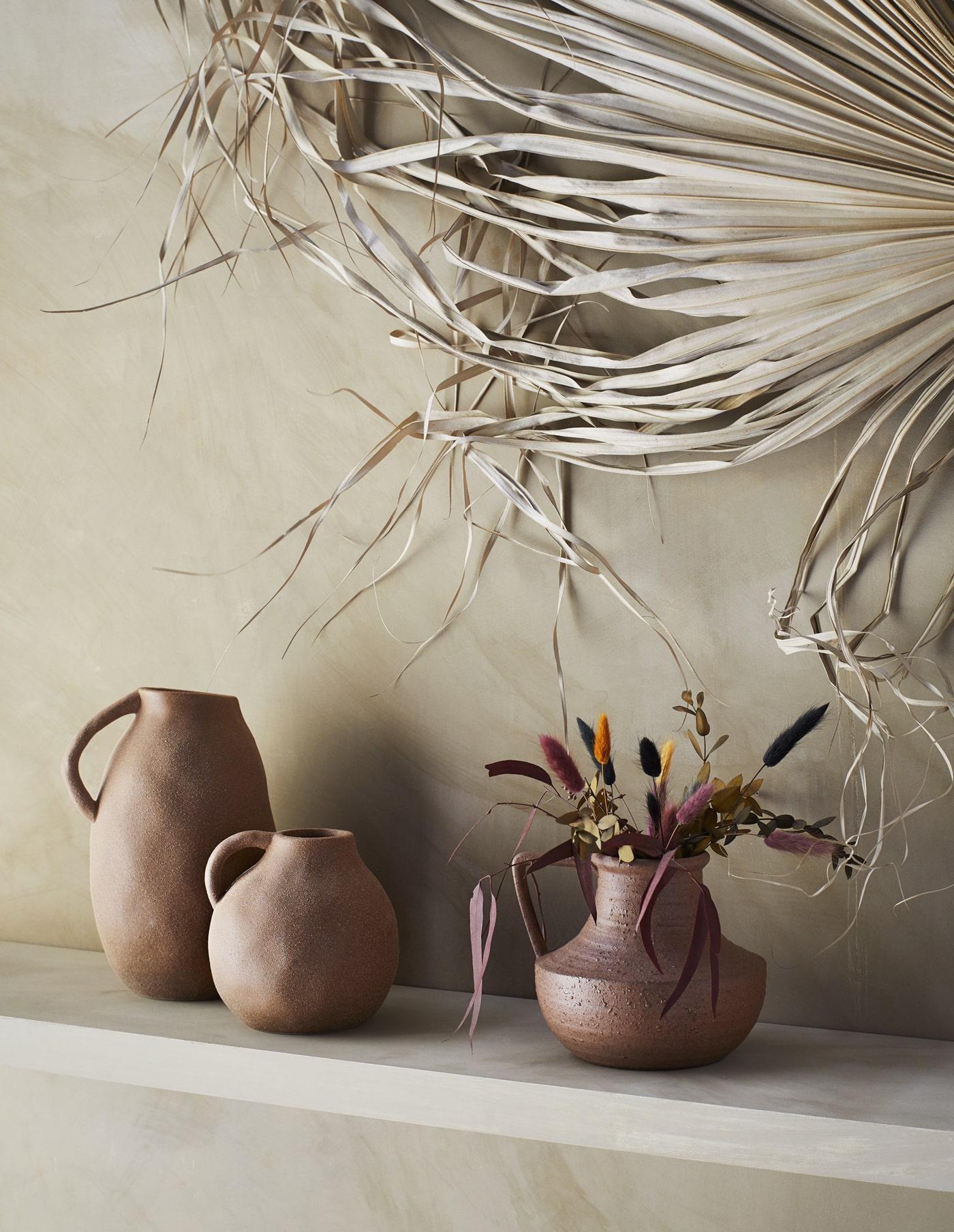 Stoneware Vase with Handle, Madam Stoltz