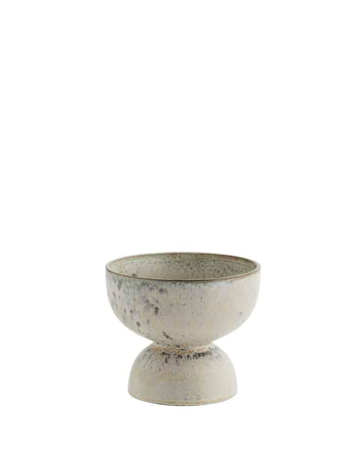 Speckled Ceramic Plant Pot, Madam Stoltz
