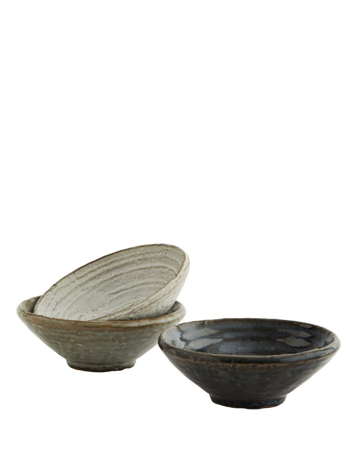Stoneware Bowl Set, Madam Stoltz