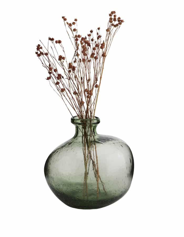 Organic Shaped Glass Vase, Madam Stoltz